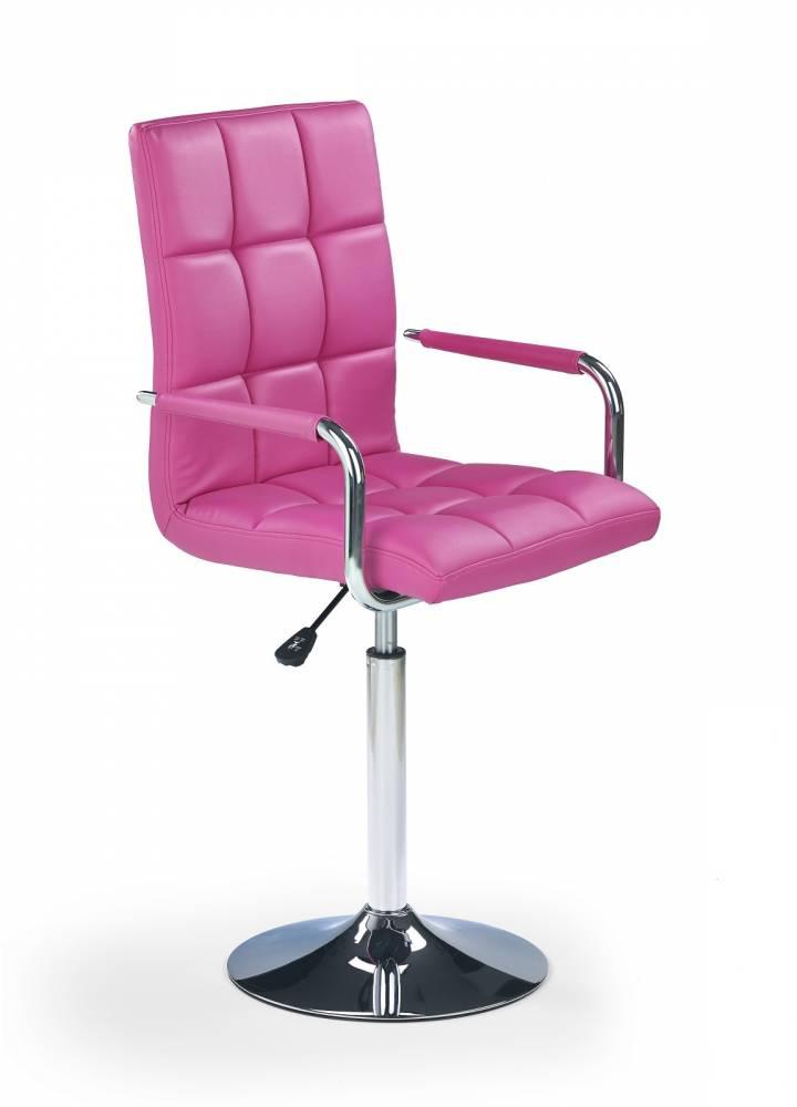Barová stolička Gonzo ružová