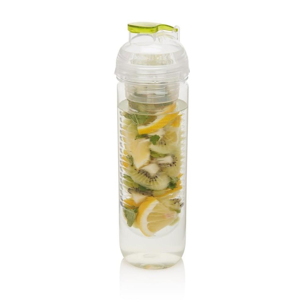 Zelená fľaša so sitkom XD Design Trita