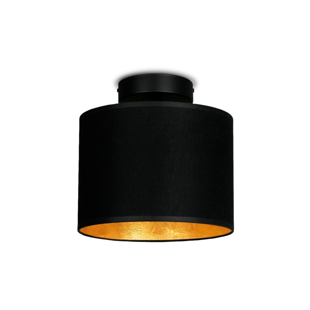 Čierno-zlaté stropné svietidlo Sotto Luce MIKA Elementar XS CP
