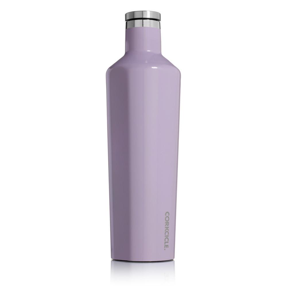 Fialová termofľaša Corkcicle Canteen, 740 ml