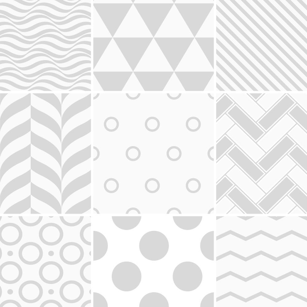 Sada 9 dekoratívnych samolepiek na stenu Ambiance Finnish, 10×10 cm