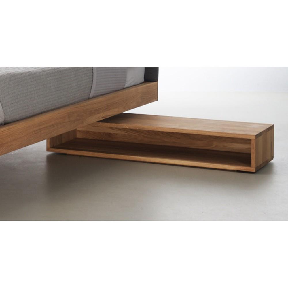 Nočný stôl z olejovaného dubového dreva Mazzivo Cubbe