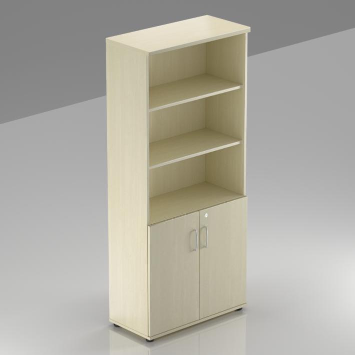 Rauman Kancelárska skriňa Visio, 80x38,5x183,5 cm, dvere 2/5 S582 12