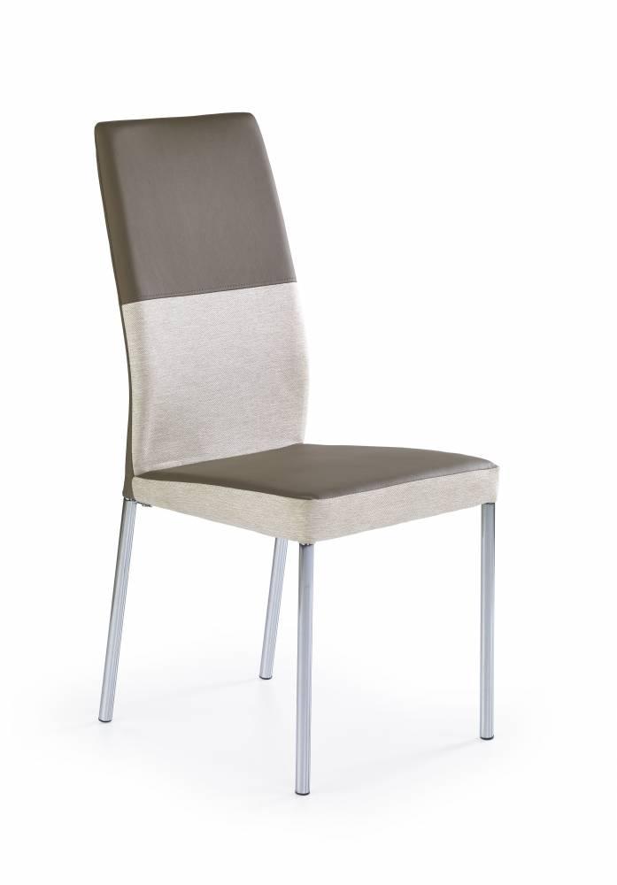Jedálenská stolička K 173 béžová + svetlohnedá