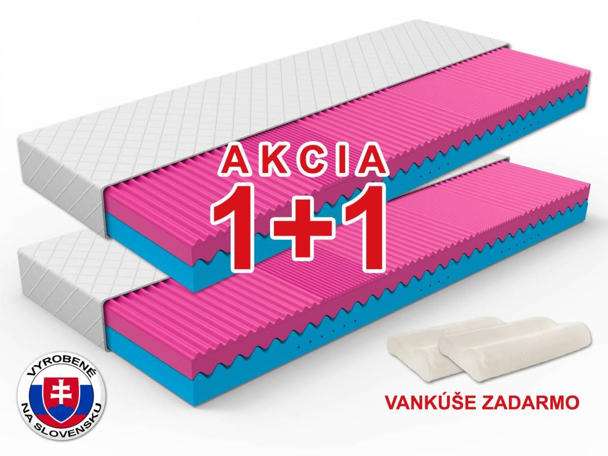 Penový matrac Camelia 200x80 cm (T3/T4) *AKCIA 1+1