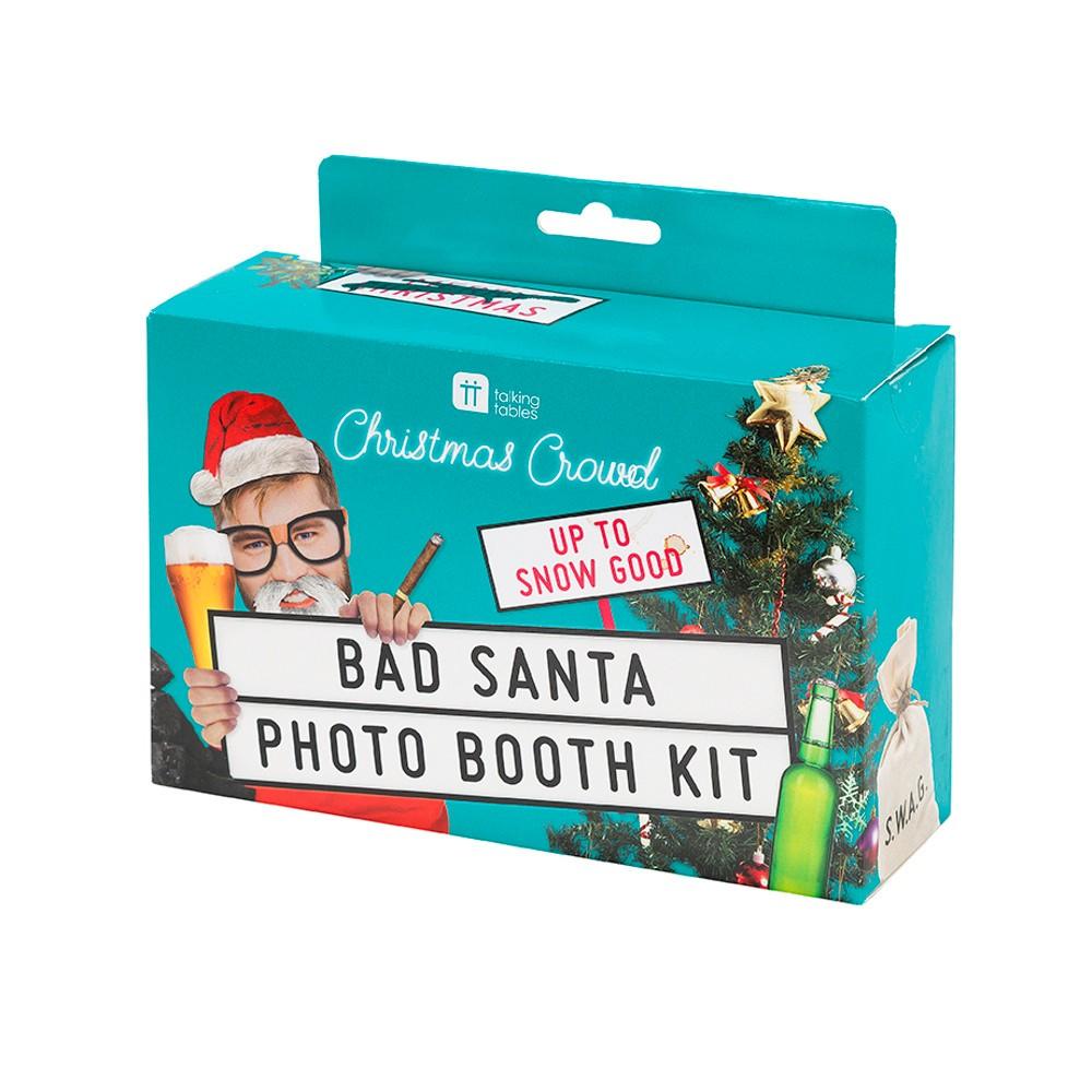 Vianočný set na foto stenu Talking Tables Bad Santa