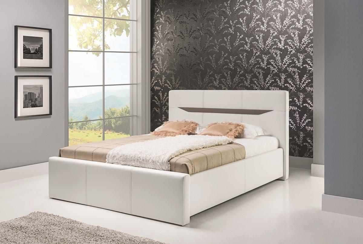 BOG-FRAN LIONEL 180 posteľ - biela