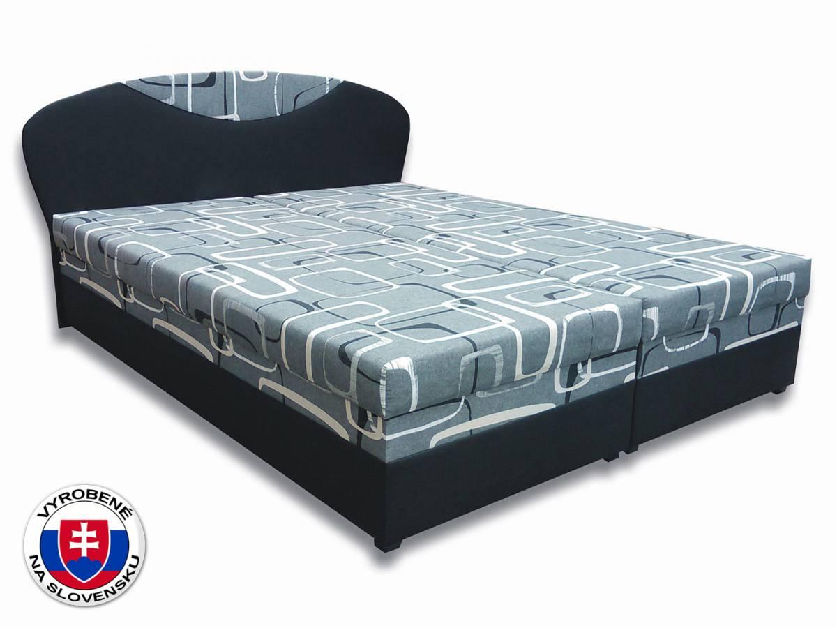 Manželská posteľ 180 cm Izabela 2 (s matracmi)