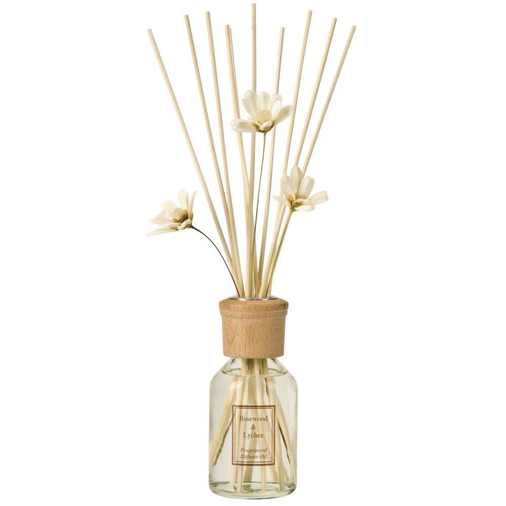 Aromatický difuzér Copenhagen Candles Rosewater & Lychee Home Collection, 100 ml