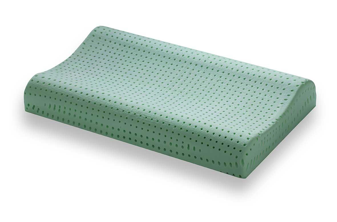 PerDormire Bio Wave - Prírodný vankúš pre spanie na chrbte 72x42 cm