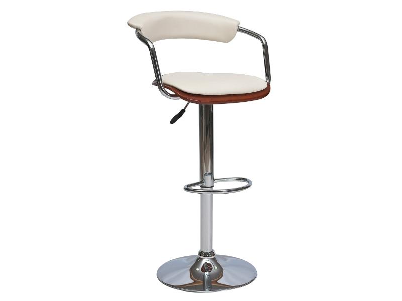 CB-973 barová stolička, čerešňa/krémová