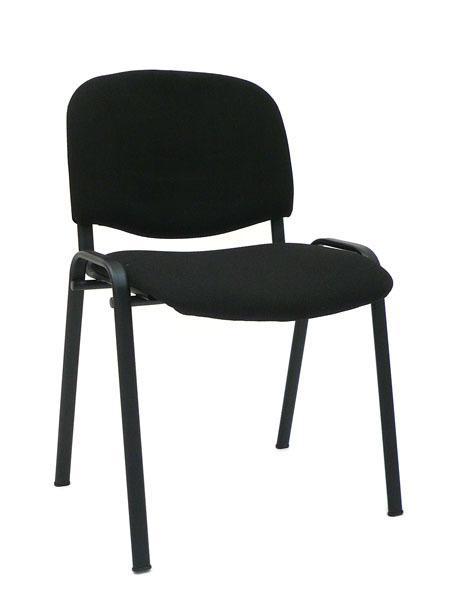 Konferenčná stolička ISO - čierná