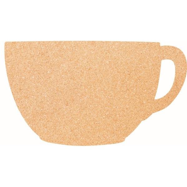 Korková doska s pripináčikmi Securit Cup, 30 x 45 cm