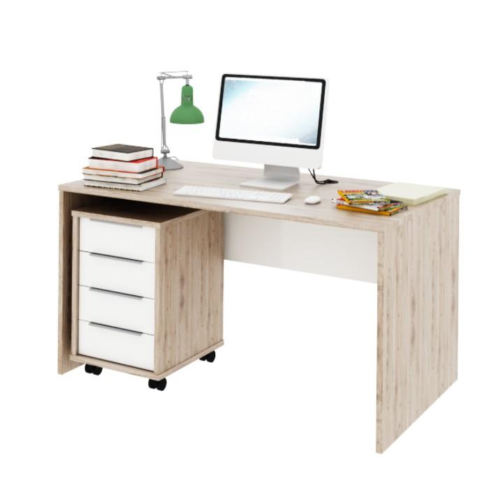 PC stolík Rioma TYP11 (san remo + biela)