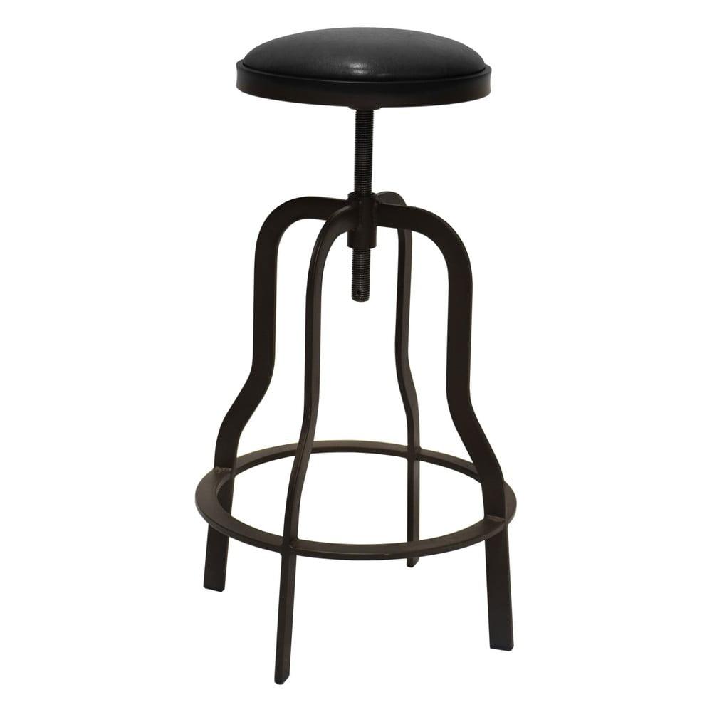Tmavohnedá barová stolička RGE Vergas, výška 66 cm