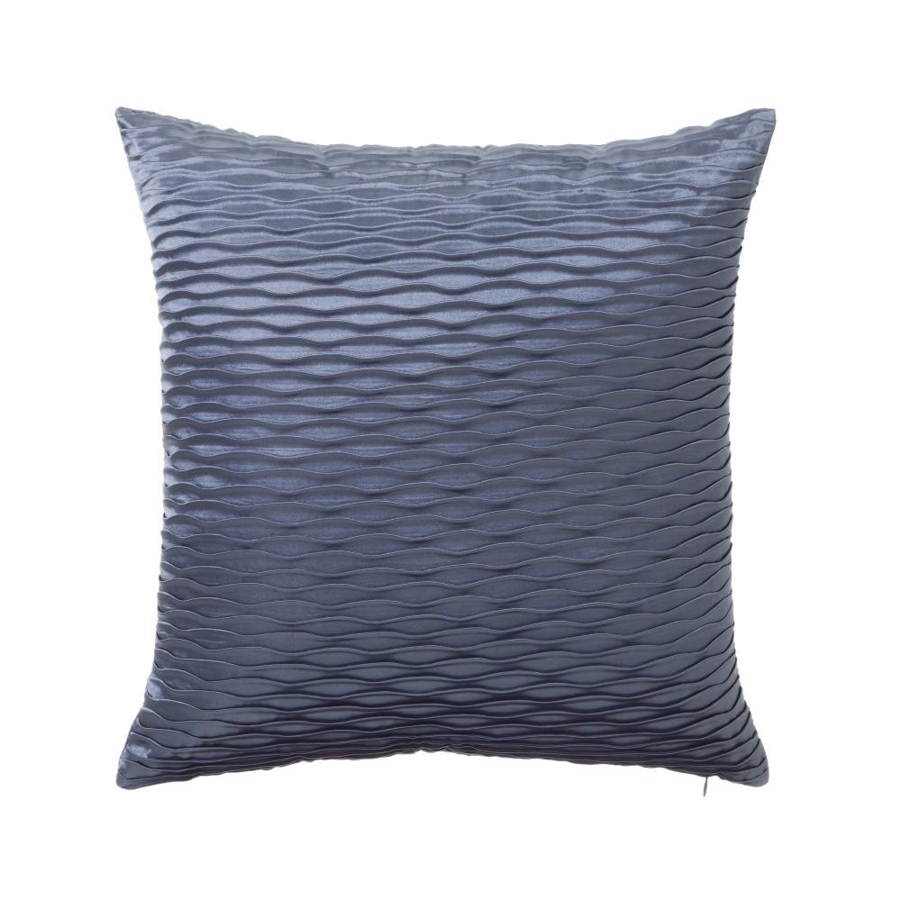 Modrý vankúš Unimasa Waves, 45 x 45 cm