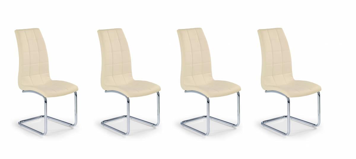 Set 4ks. jedálenských stoličiek K147 (béžová) *výpredaj