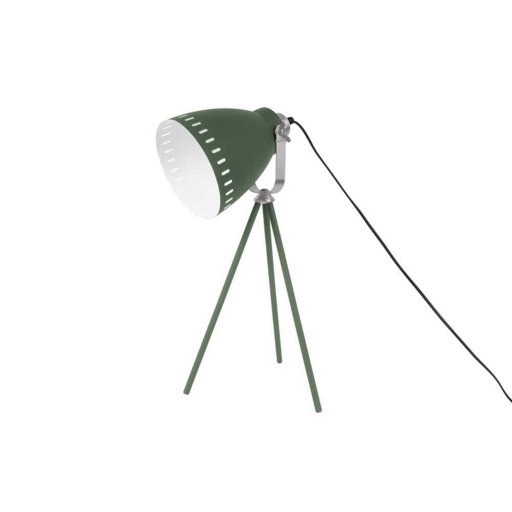Zelená stolová lampa Leitmotiv Tristar