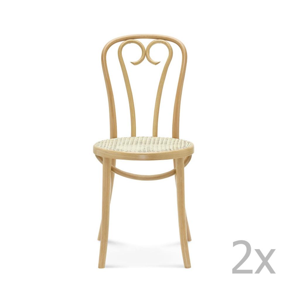 Sada 2 drevených stoličiek Fameg Jesper