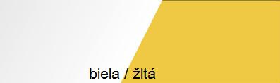 Skriňa MOBI MO 4 Ľ/P   Farba: Žltá