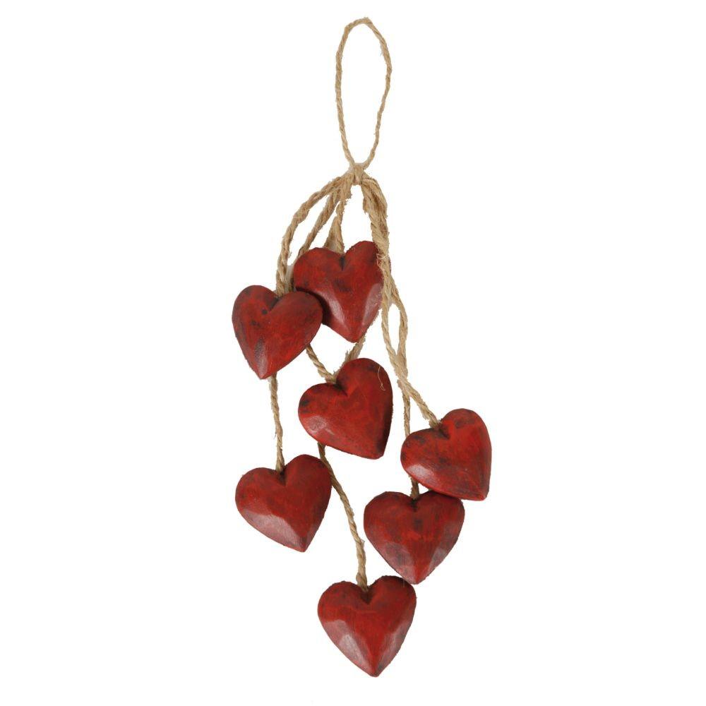 Závesná dekorácia Red Heart Antic