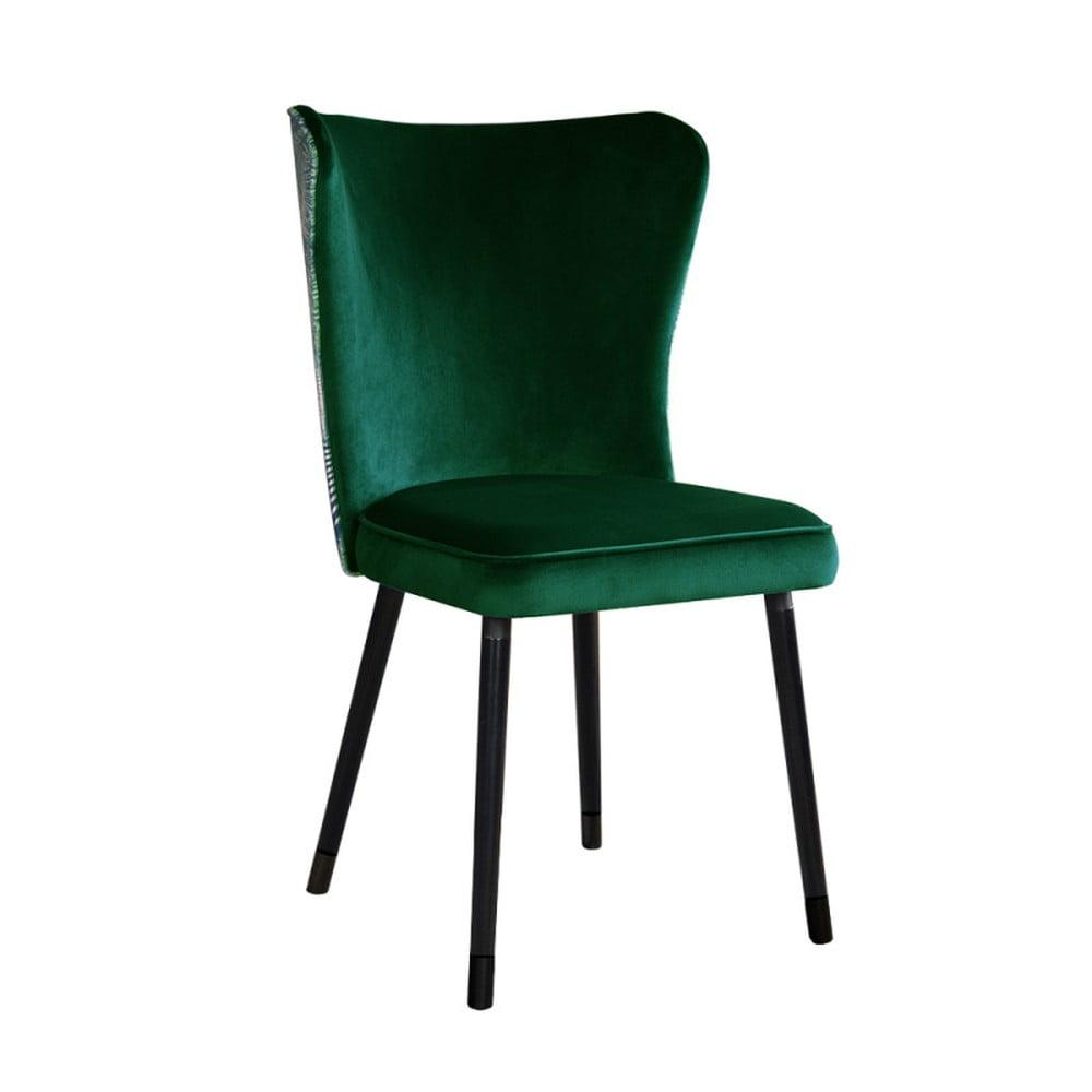 Zelená jedálenská stolička JohnsonStyle Odette Eden