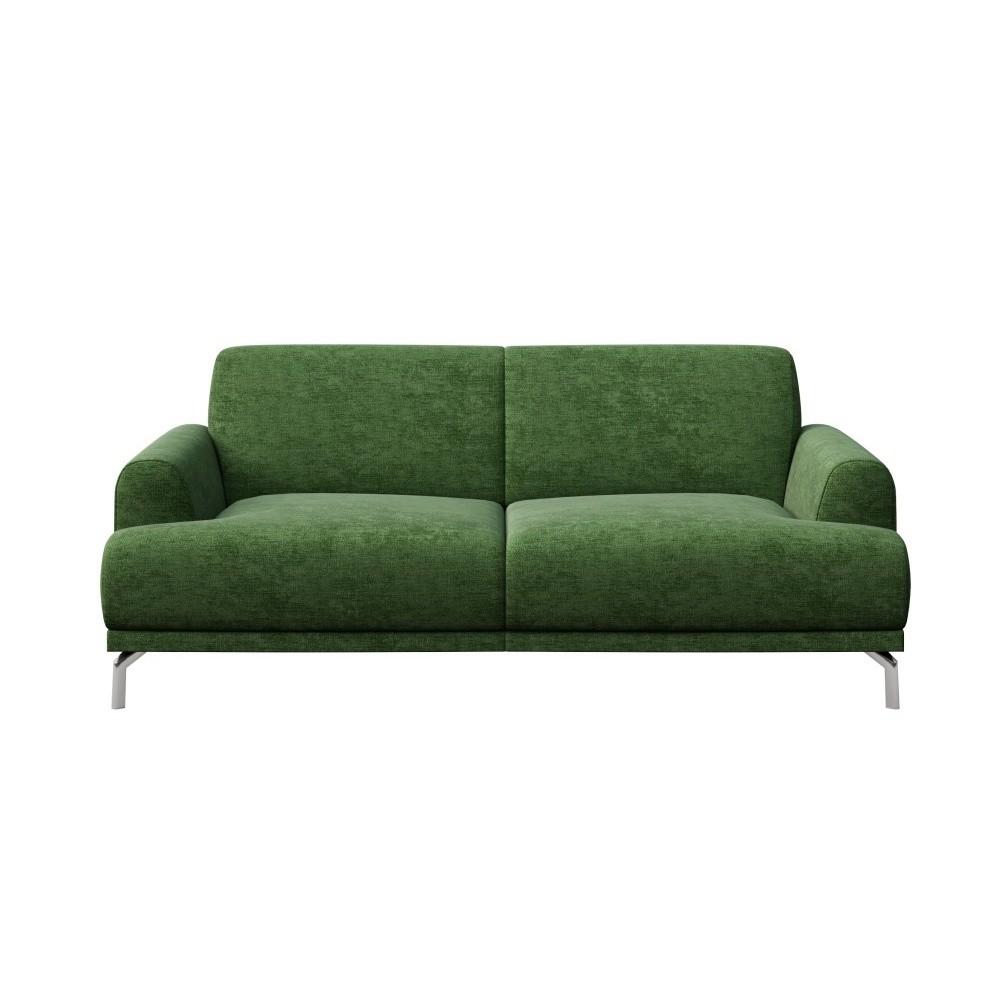 Zelená dvojmiestna pohovka MESONICA Puzo