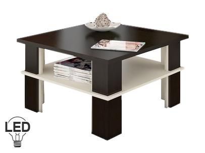 Konferenčný stolík Futura 1 (wenge + krém)