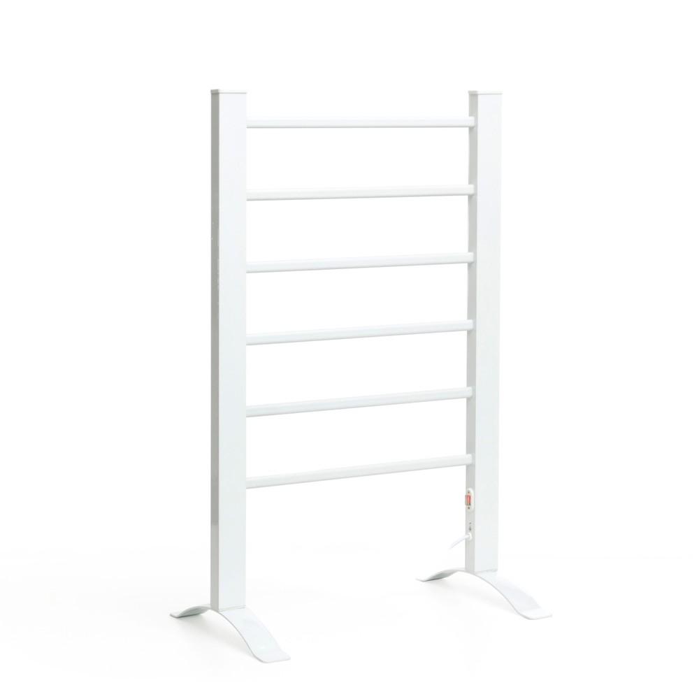Biely elektrický rebrík na uteráky InnovaGoods Towel Rail
