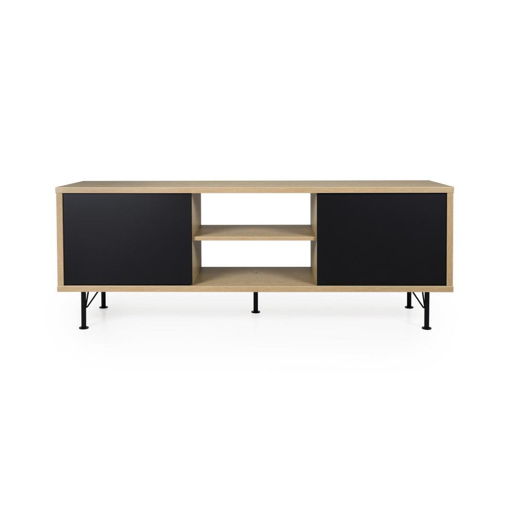 Čierny TV stolík Tenzo Flow