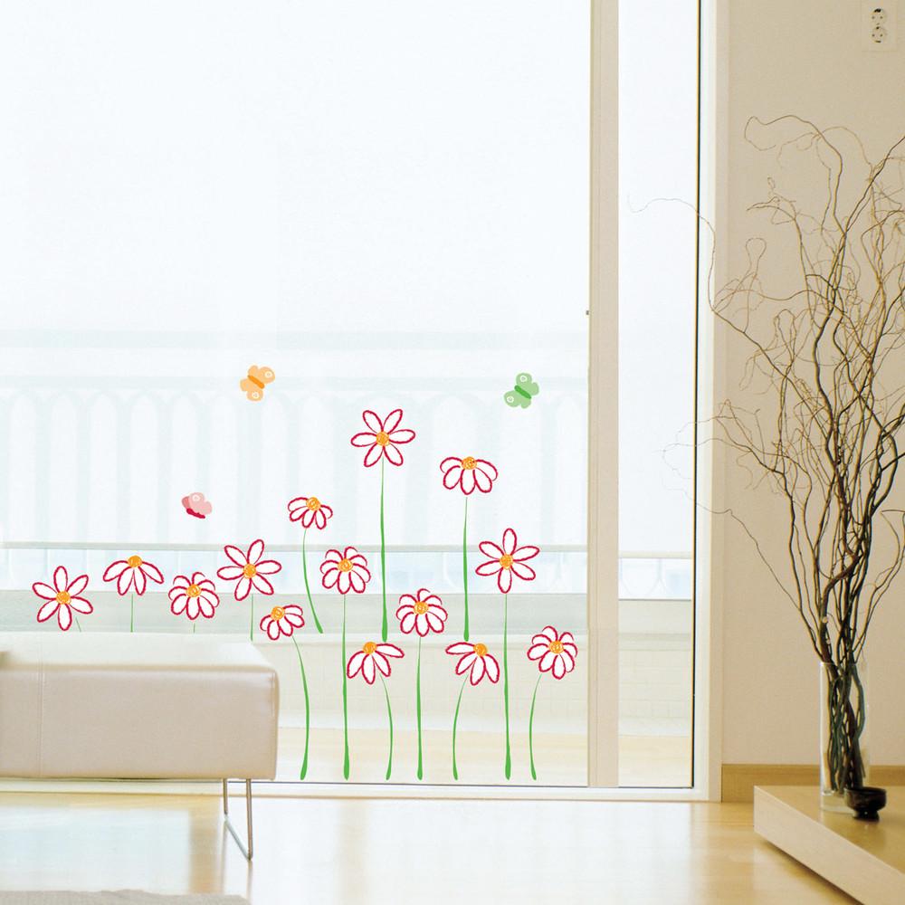 Samolepka Fanastick Flowers Wall