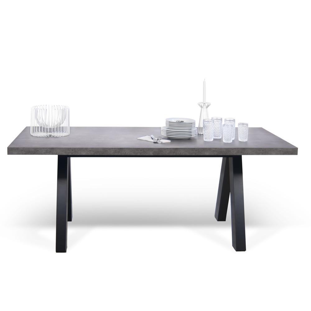 Sivý jedálenský stôl TemaHome Apex