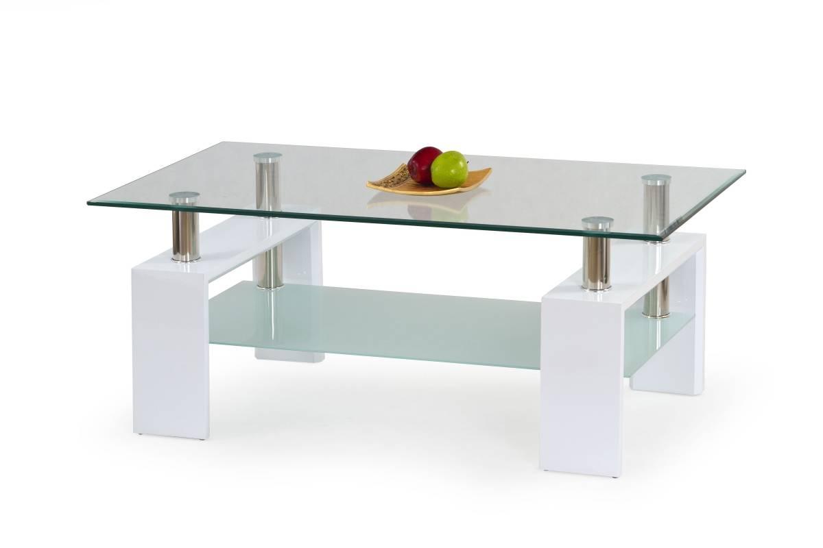 Konferenčný stolík DIANA H biela