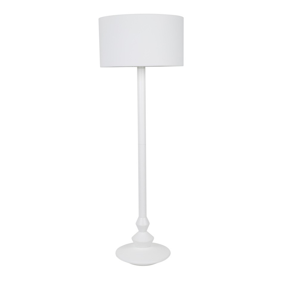 Biela stojacia lampa Zuiver Finlay