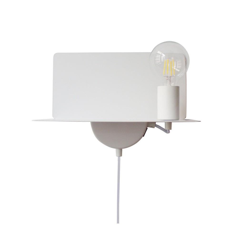 Nástenná lampa s poličkou USB portem Opjet Paris Applique