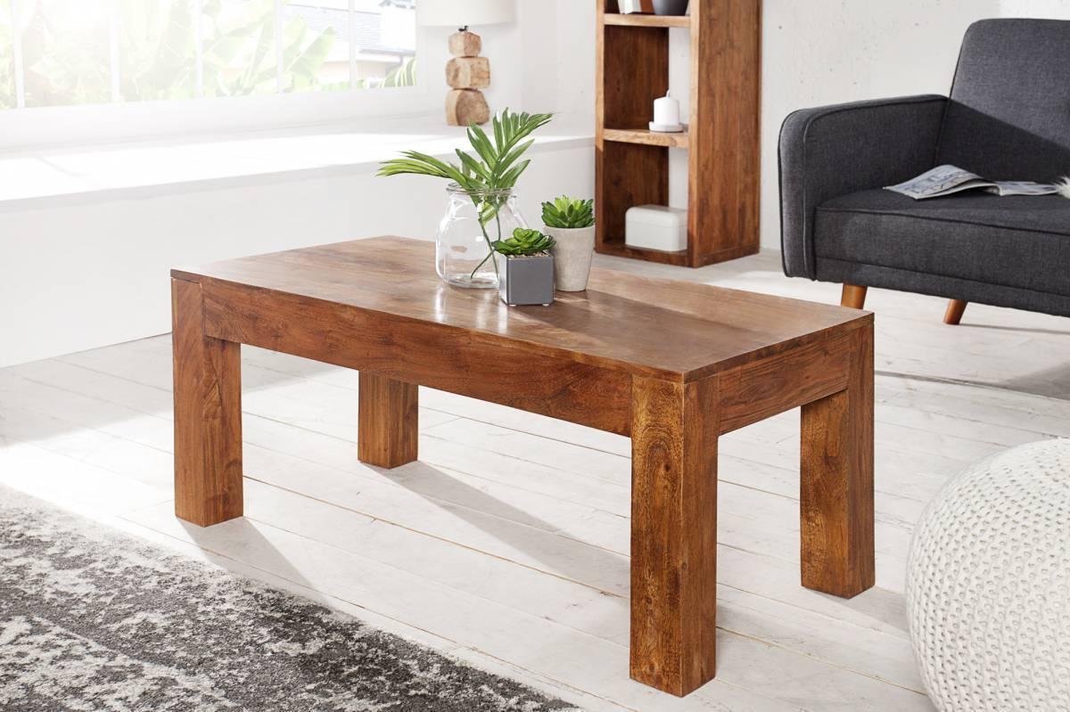 Konferenčný stolík MENSOON 100 cm - prírodná