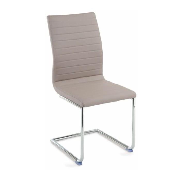Stolička, ekokoža béžová, OTILA