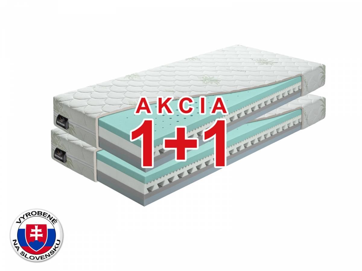 Penový matrac Benab Omega Flex Duo 200x70 cm (T3/T4) *AKCIA 1+1