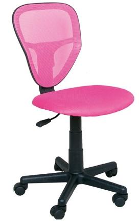 Detská stolička Spike ružová