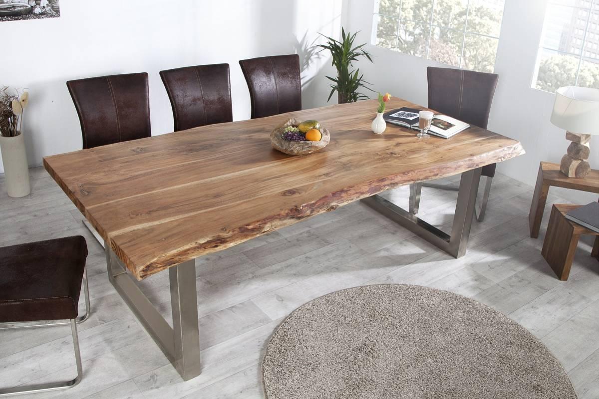 Jedálenský stôl MATT 160 cm - hnedá