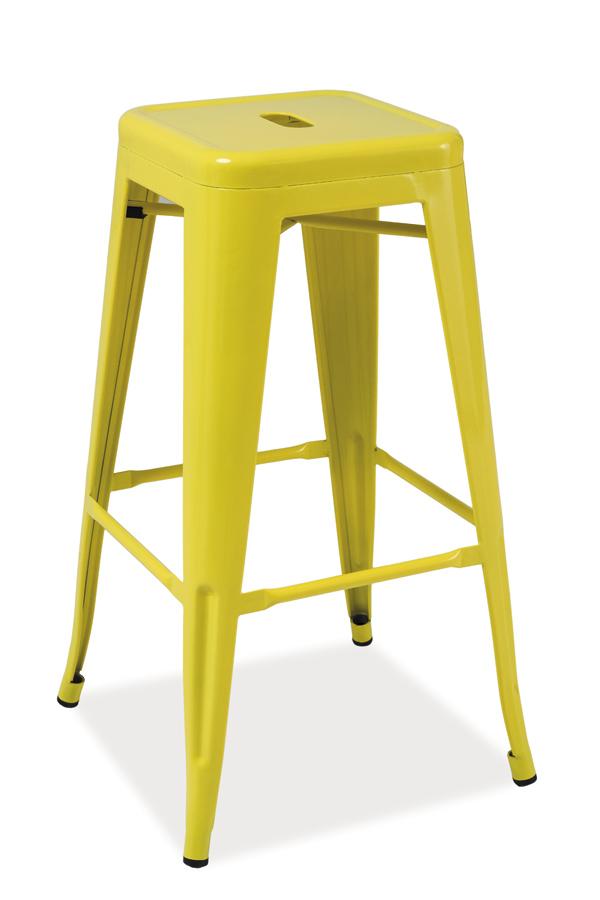 LANG barová stolička, žltá