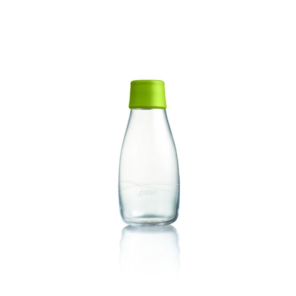 Zelená sklenená fľaša ReTap s doživotnou zárukou, 300ml