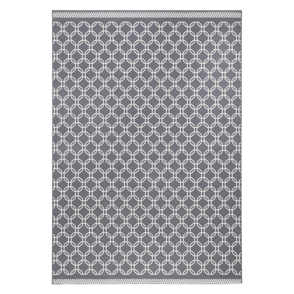 Sivý koberec Hanse Home Chain, 70x140cm