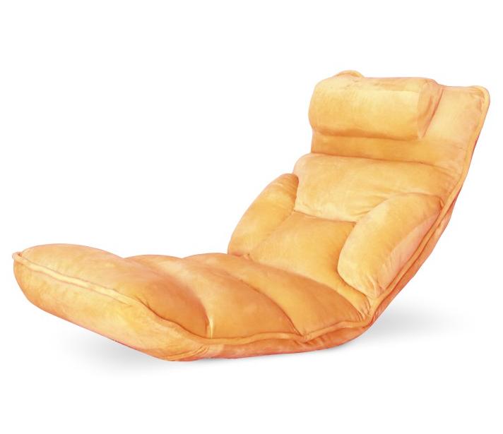 Relaxačné kreslo LOTA / oranžová