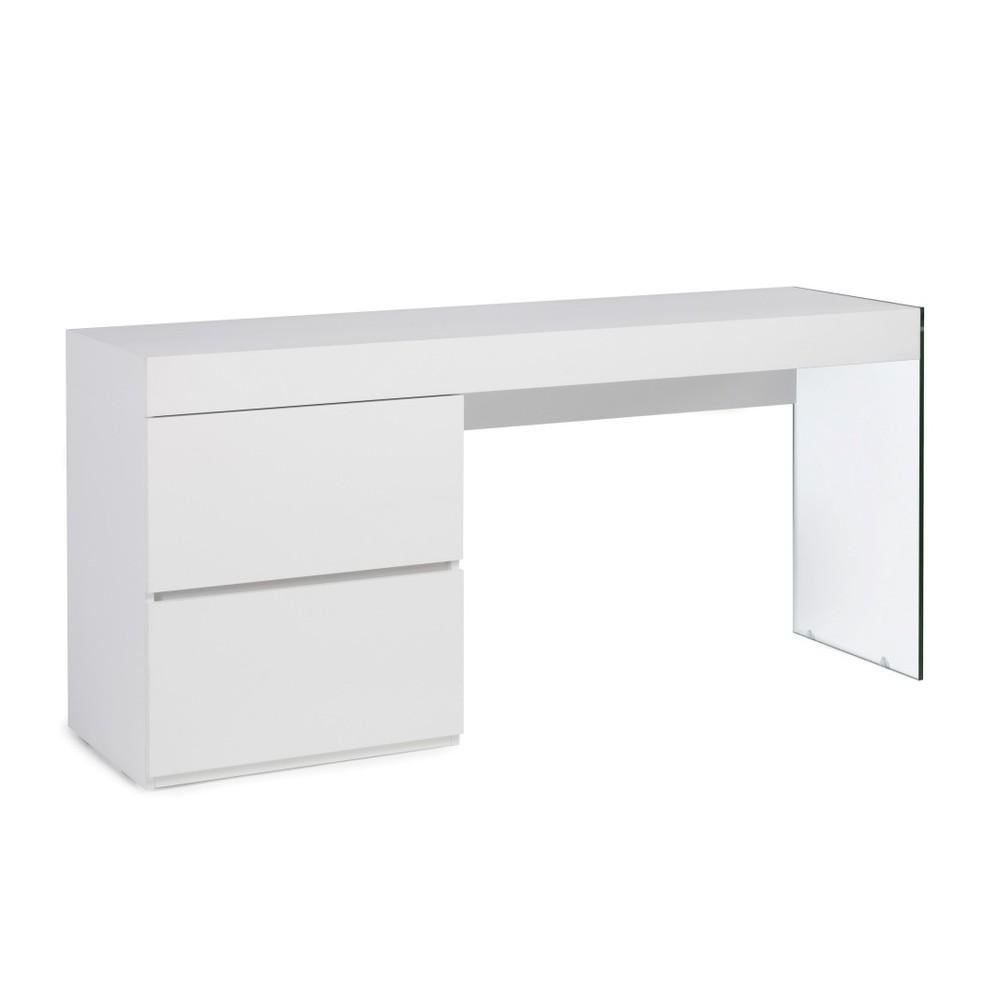Biely pracovný stôl Ángel Cerdá Elena