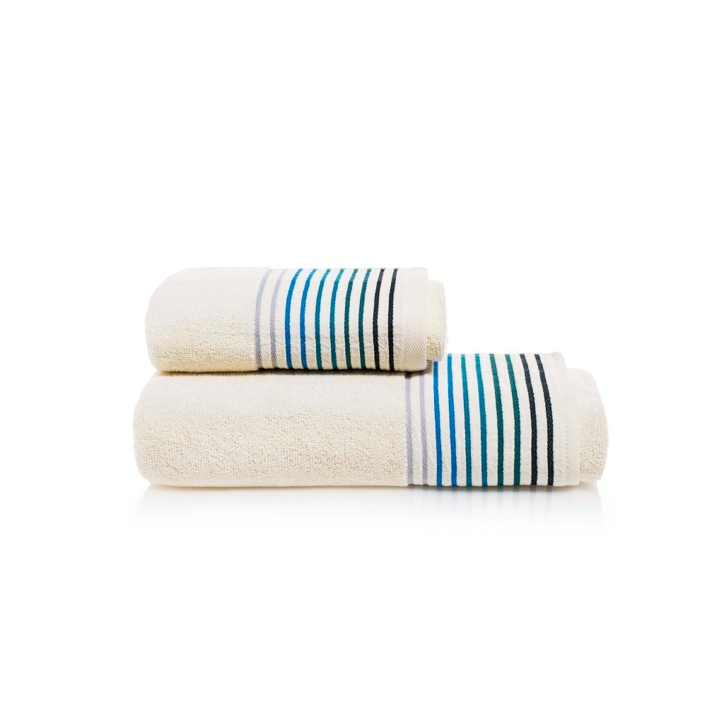 Set osušky a uteráka z bavlny Maison Carezza Linea