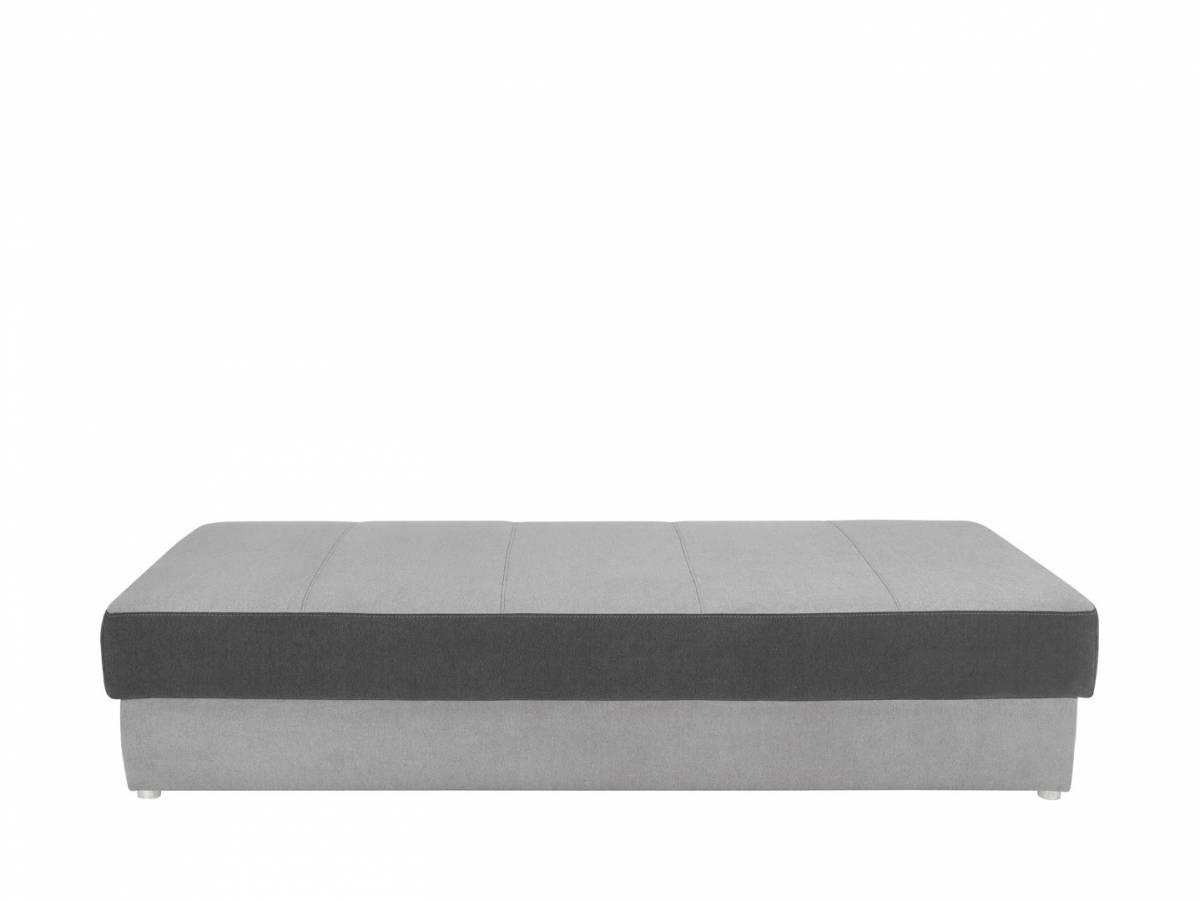 Jednolôžková posteľ (váľanda) Pepe LBK (sivá)