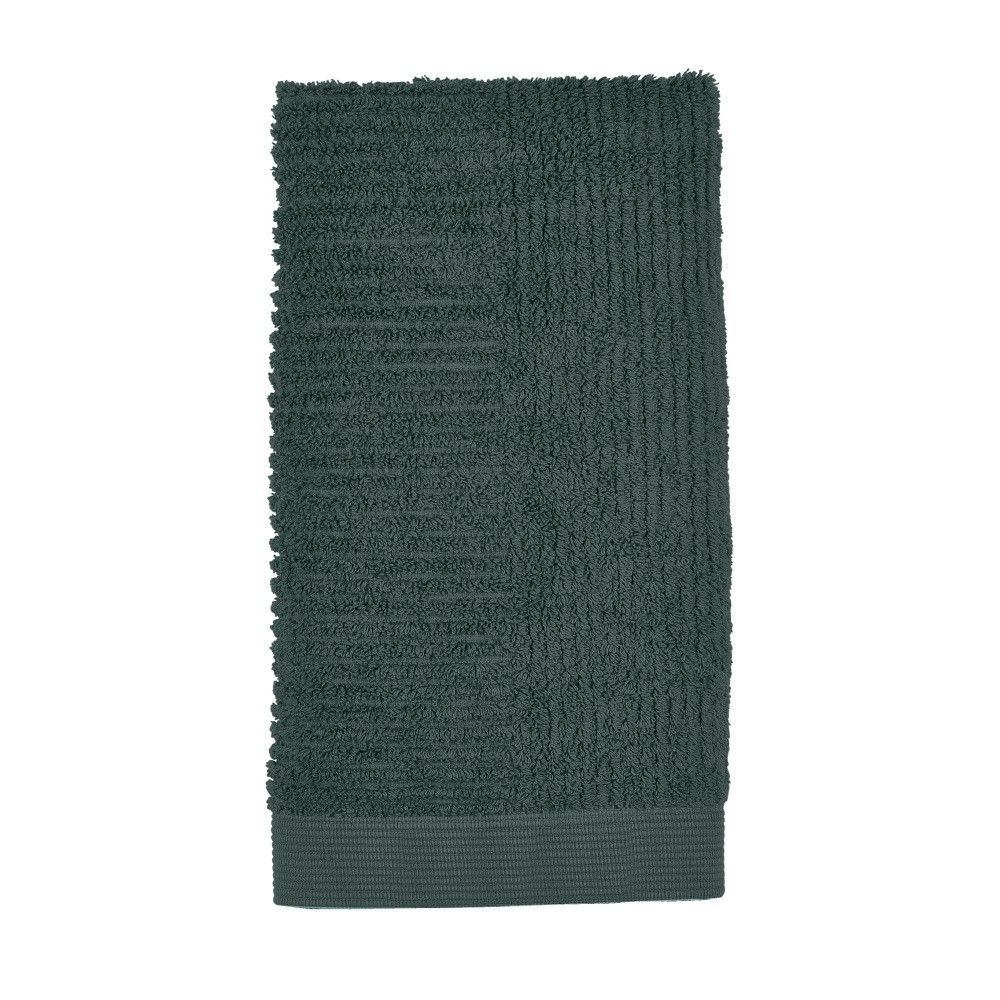 Tmavozelený uterák Zone Classic, 50 x 100 cm