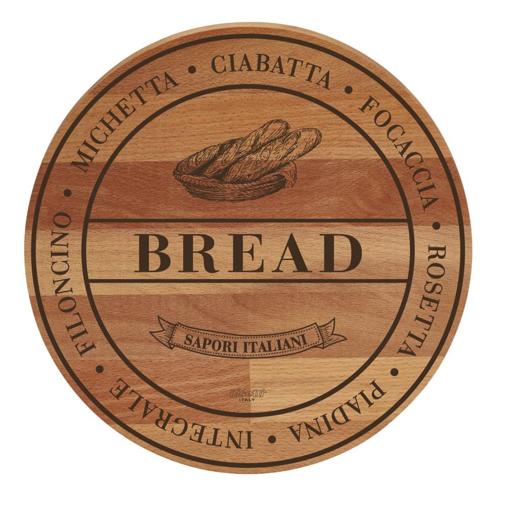 Doska z bukového dreva Bisetti Broad Bread, 30 cm