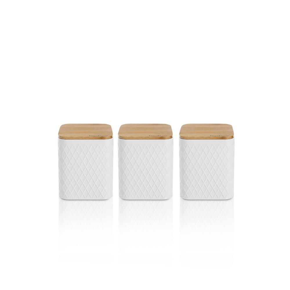 Sada 3 úložných dóz Bambum Tendon